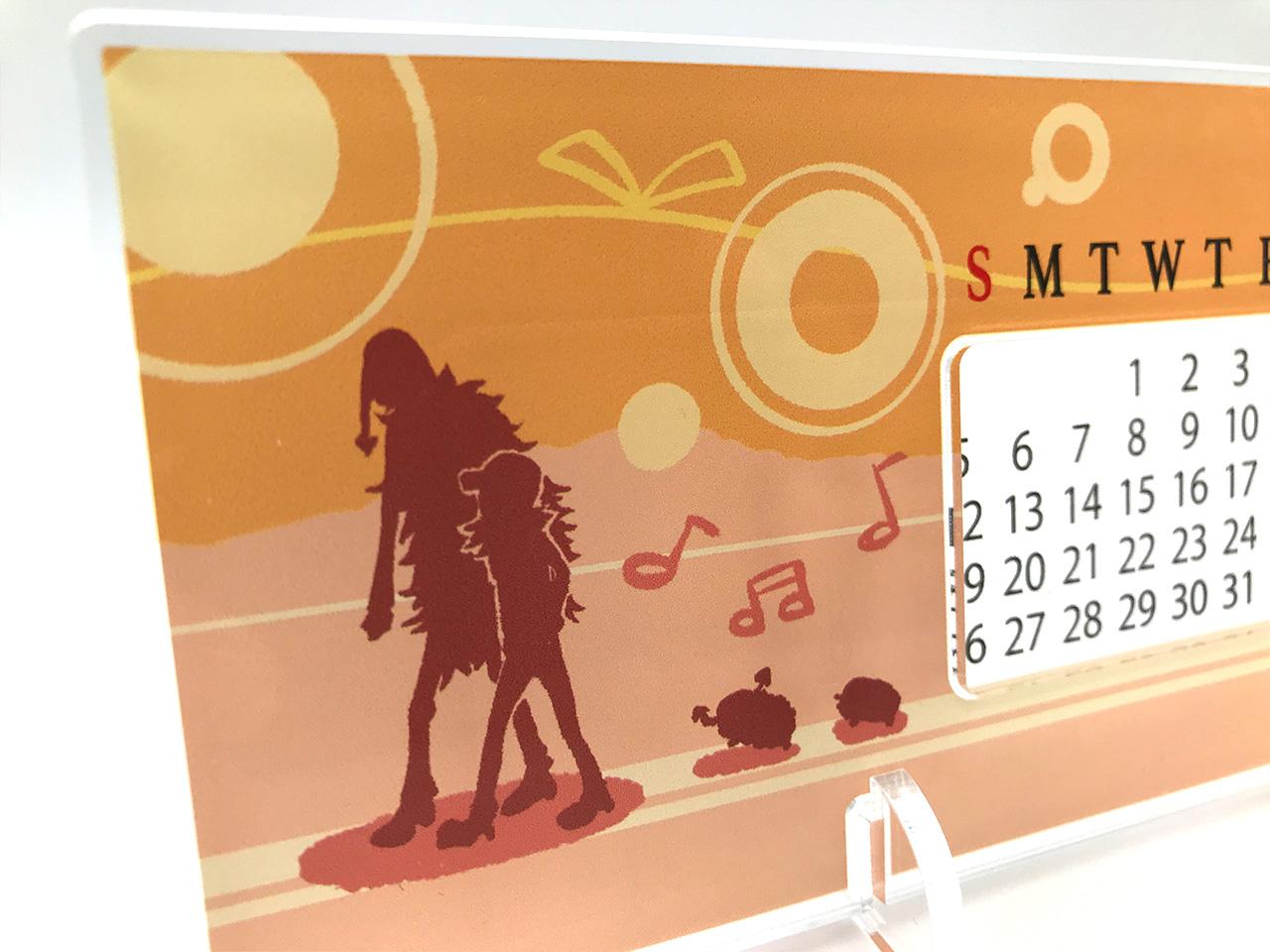 アクリル万年カレンダー 画像4