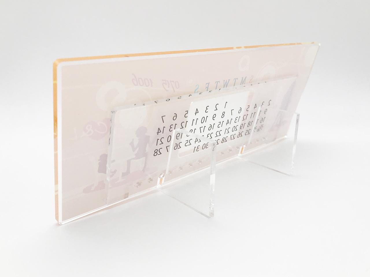 アクリル万年カレンダー 画像5